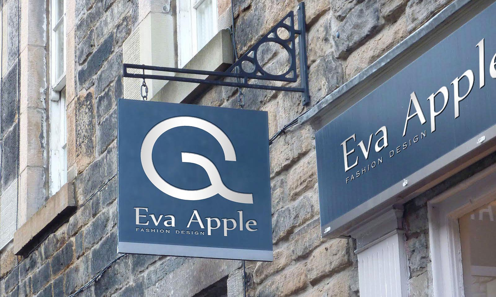 Eva Apple logo 3